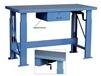 WOOD TOP ELECTRIC ERGONOMIC HYDRAULIC WORK BENCHES